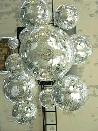 chandeliers disco ball chandelier mirror modern home decor of all made in the are