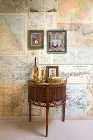 jaw dropping wall covering ideas for your home travel maps wall coverings you can even create your own ones showing your trips diy bathroom wall coverings