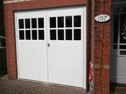 hinged garage doors small