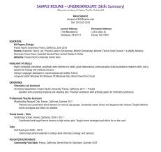 How To Write A Resume For High School Students Fascinating High School Student Resume Examples For J How To Make A Resume For A