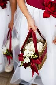 flower basket for wedding. lovely flower girl basket ideas to try for wedding