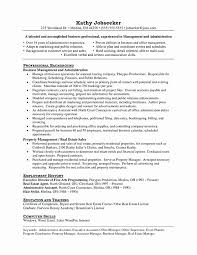 Assistant Property Manager Resume Template Inspiration Assistant Property Manager Resume Sample Newest Assistant Manager