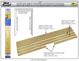 exterior door frame kits. picture of 15113068 stain grade pocket door jamb kit exterior frame kits