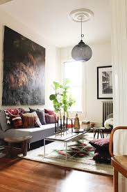 Modern living room decorating with Bohemian chic