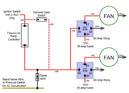 optional dash switch electric cooling fan wiring diagram optional dash switch electric cooling fan wiring diagram