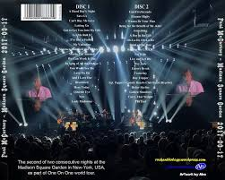 the second of two consecutive nights at the madison square garden in new york usa as part of one on one world tour september 17 2017 great show