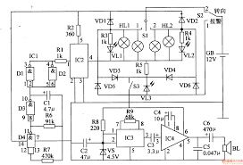Wire chart circuit diagram large size alarm circuit page security circuits next gr auto flash staircase control electrical