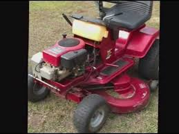 murray riding lawn mower fixya