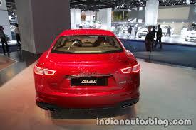 2018 maserati truck. brilliant maserati 2018 maserati ghibli gransport rear at iaa 2017 indian autos blog for truck