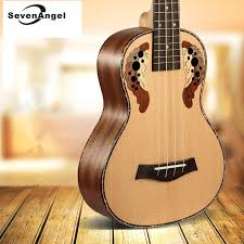 "<b>SevenAngel</b> 23"" Concert Ukulele Ingrid Spruce Grape Style Sound ..."