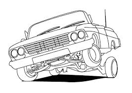 Small Picture Lowrider Cars Hydraulics Coloring Pages Download Print Online