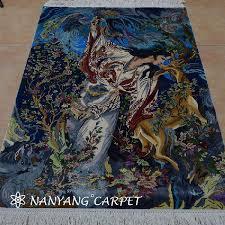 3 x4 5 iran rug art isfahan tapestry