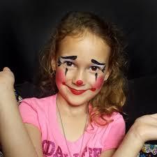 cute clown face paint tutorial