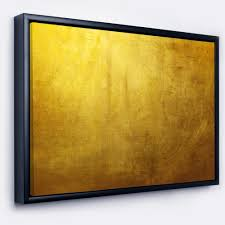 shop designart gold texture abstract framed canvas art print on sale free shipping today overstock 18953417 on framed canvas wall prints with shop designart gold texture abstract framed canvas art print on