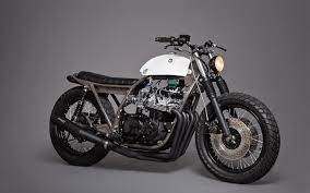 what is a bratstyle motorcycle