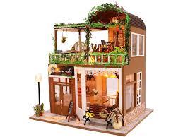 <b>Сборная модель DIY House</b> Лаунж кафе M906 - ElfaBrest