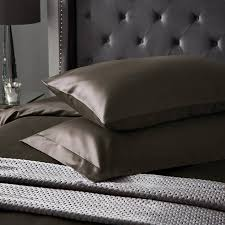 hotel living 1000tc large square pillowcase platinum