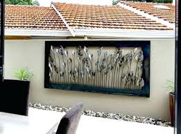 outdoor wall art cheap as chips