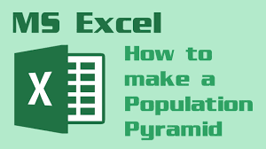 Excel 2016 Pyramid Chart How To Make A Population Pyramid Chart In Excel