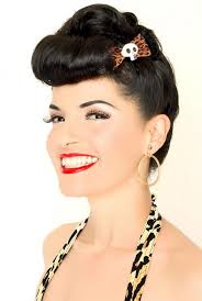 Pin Up Hair Hairstyles Hairstylo