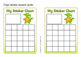 Toddler Good Behavior Sticker Chart Printable Primary School Sticker Charts Sparklebox