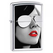 Купить <b>Зажигалка Zippo</b> 28274 <b>Sunglasses High</b> Polish Chrome