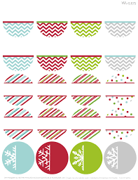 Holiday Address Label Templates Free Printable Holiday Themed Round Address Labels With