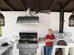 Bobby Flay Outdoor Kitchen Food Network Magazine Star Kitchens Chefs Food Network Food