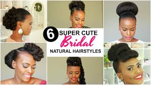 2019 Bridal Natural Hairstyles For Black Women Youtube