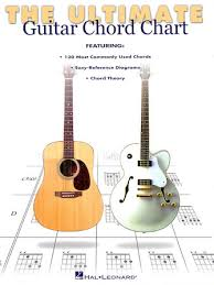 Ultimate Guitar Chord Chart Hal Leonard Online