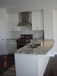 Pre Cut Granite Kitchen Countertops Bianco Antico Granite Countertops White Cabinets Stainless