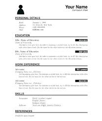 Blank Resume Forms To Print Blank Resumes To Print Best Resume Builder App From Resume Builder