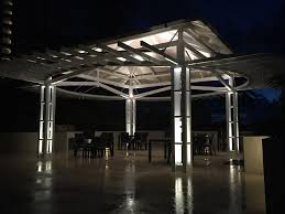 outdoor lighting for pergolas. Custom-naples-pergola-lighting Outdoor Lighting For Pergolas L