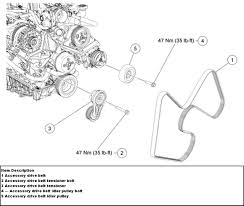 similiar 2007 ford mustang v6 engine diagram keywords serpentine belt routing ford 4 6l 5 4l and 6 8l engines a c