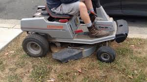 old sears riding lawn mowers. craftsman ii riding lawnmower 30 10 hp rear engine model for sears lawn mower old mowers