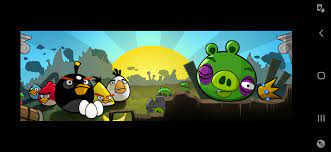 Angry birds v.1.6.3 poached eggs ending cutscene: angrybirds