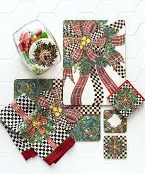 mackenzie childs inspired rugs home accessories new sample holiday