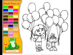 Small Picture Dora Coloring Pages For Kids YouTube