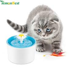 fontaine boisson dog cat water automatic pet drinking fountain for food bowl automatic water bowl for cats e37