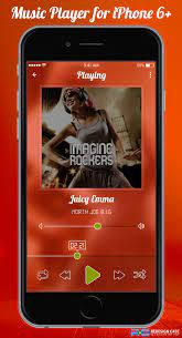 New Music Player for iPhone 6+
