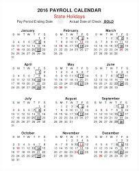 Payroll Calendar Template Enchanting Payroll Calendar Template New Bi Weekly Pay Format Swisstrustco