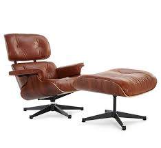 eames lounge chair replica antique brown manhattan home