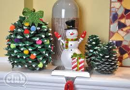 How To Make A Pine Cone Christmas Tree U003e Httpwwwhgtvgardens Pine Cone Christmas Tree Craft Project