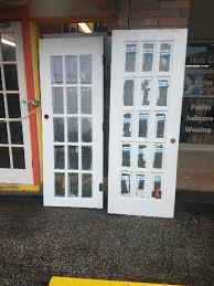 2 Single Exterior French Doors Household in San Antonio TX OfferUp