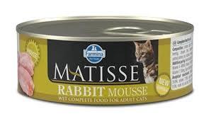 Консервы Farmina <b>Matisse</b> Cat <b>Mousse Rabbit</b>, 85 г для котов