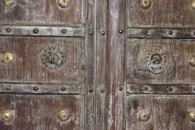 Indian Antique Entrance Doors Solid Wood Hand Carved Vintage ...