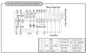 ats wiring diagram for sel generator automatic transfer circuit pdf ats panel for generator wiring