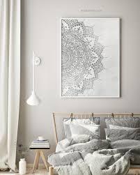 print boho bedroom wall decor boho