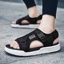 Casual <b>Solid Color Summer Shoes</b>-Sandal-M-anxiu-black-39 ...