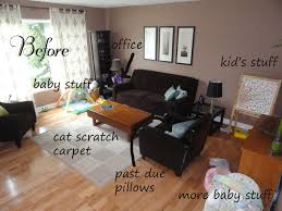 Living Room Makeover Design Before Picture Diy Home Decor